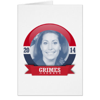 ALISON LUNDERGAN-GRIMES CAMPAIGN GREETING CARD