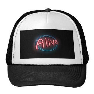 Alive concept. cap
