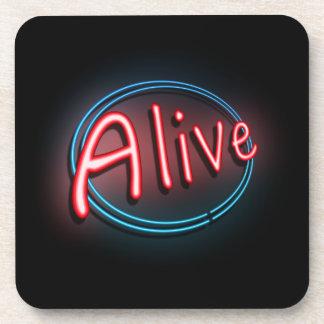 Alive concept. coaster