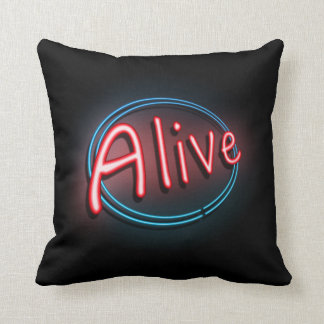 Alive concept. cushion
