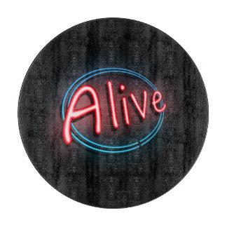 Alive concept. cutting board