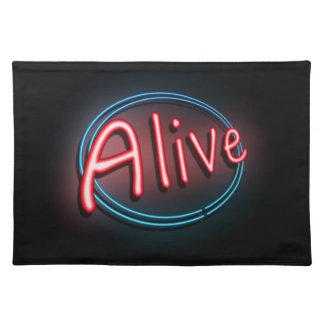 Alive concept. placemat