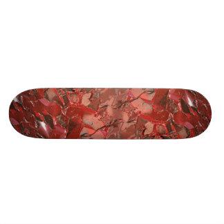 Alizarin oil paint texture skate board deck