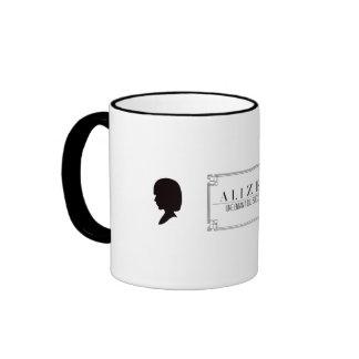 Alizée UNITES ENFANT DU SIECLE! Ringer Mug