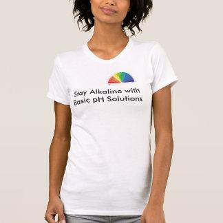 Alkaline chart for Basic pH Solutions T-Shirt