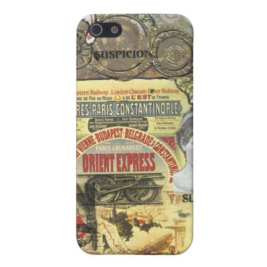All Aboard! The Orient Express iPhone 5/5S Cover