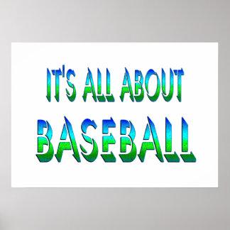 All About Baseball Print