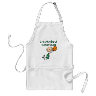 All About Basketball Adult Apron