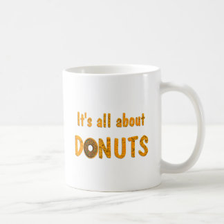 All About Donuts Coffee Mug