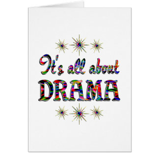 ALL ABOUT DRAMA CARD