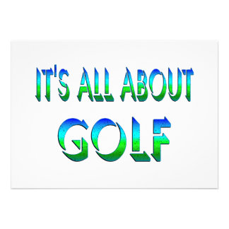 All About Golf Announcement