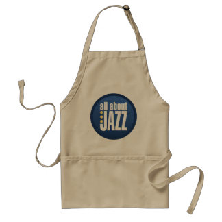 All About Jazz Apron