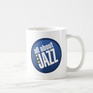 All About Jazz Basic White Mug