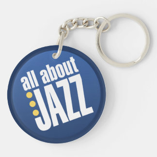 All About Jazz Doublesided Key Chain