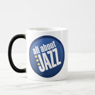 All About Jazz 11 Oz Magic Heat Color-Changing Coffee Mug