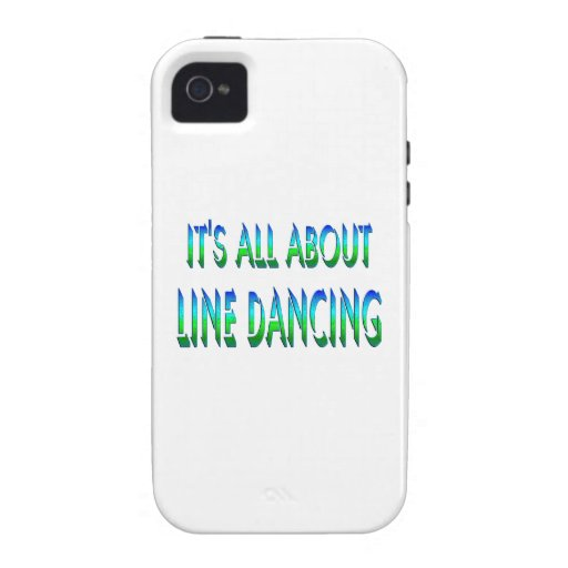 All About Line Dancing Case-Mate iPhone 4 Case