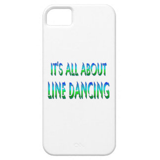 All About Line Dancing iPhone 5 Cover