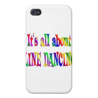 All About Line Dancing iPhone 4/4S Covers