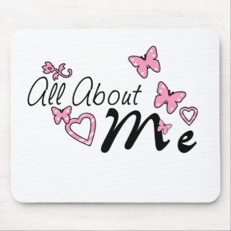 All About Me Mouse Pads