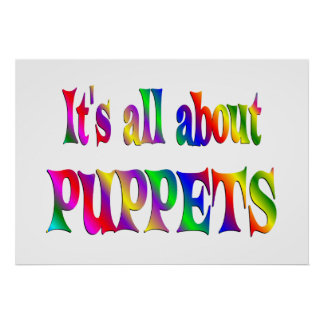 All About Puppets Print