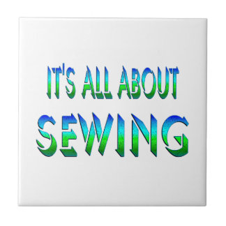 All About Sewing Tile