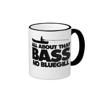 All about that bass no bluegill mugs