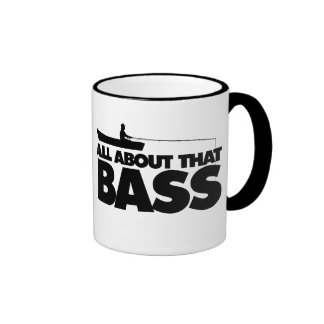 All about that bass no bluegill coffee mugs