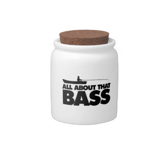 All about that bass no bluegill candy jars