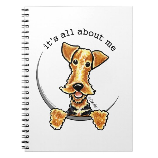All About the Airedale Terrier Notebooks