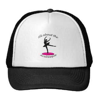 All About the Arabesque Trucker Hats