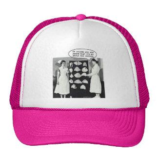 All about the Nurse Uniform Trucker Hat