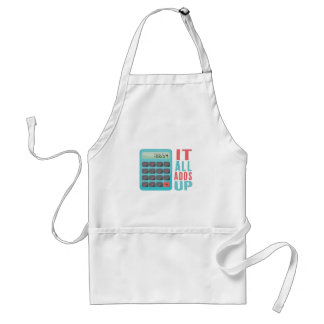 All Adds Up Standard Apron
