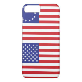 All American - 13 & 50 Star U.S. Flags iPhone 8 Plus/7 Plus Case