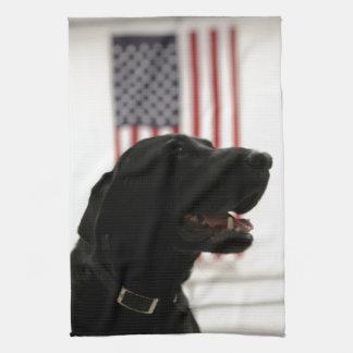 All-American Black Labrador Retriever Towels