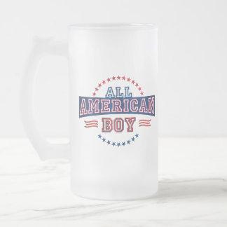 All-American Boy Glass Mug