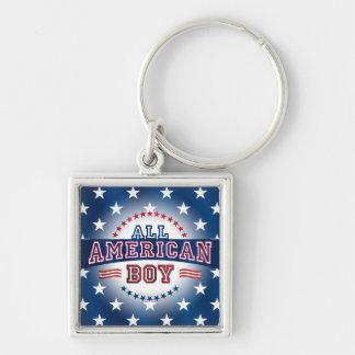 All-American Boy Key Chain