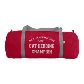 All American Cat Herding Champion Gym Duffel Bag