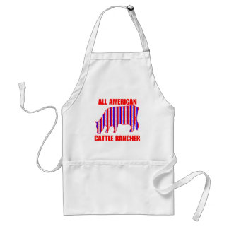 ALL AMERICAN CATTLE RANCHER STANDARD APRON