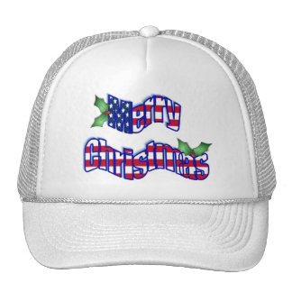 All American Christmas hat