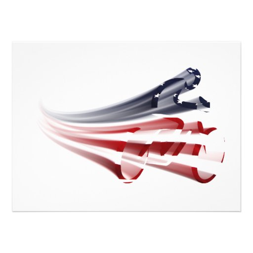 All American Cyclist -  Zooming By! Custom Invite