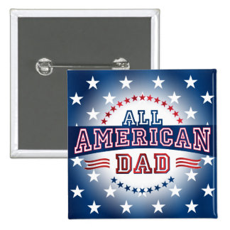 All-American Dad Button
