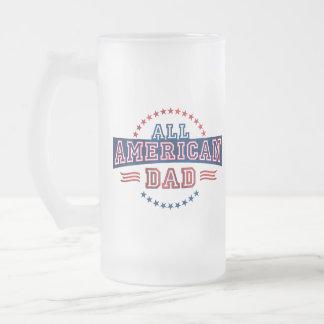 All-American Dad Glass Mug