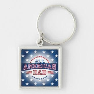 All-American Dad Key Chain