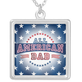 All-American Dad Necklace