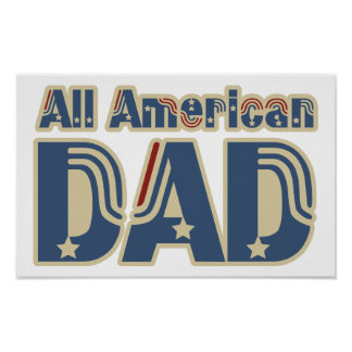 All American Dad Posters