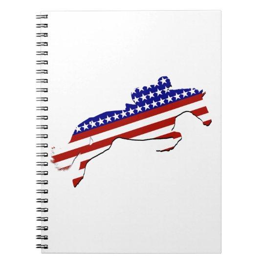 All-American Equestrian Rider Notebook