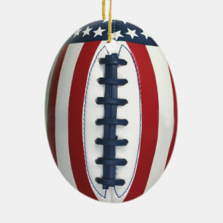 All-American Football Christmas Ornament