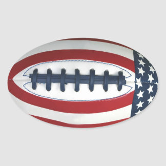 All-American Football Sticker