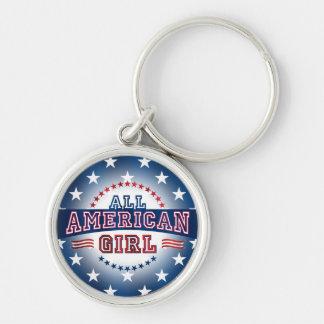 All-American Girl Key Chain
