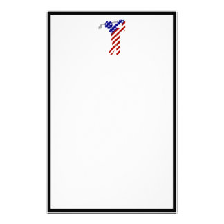 All American Golfer - Mens Golf Customised Stationery